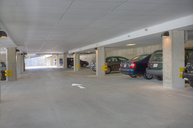 Covered Parking Garage: View Photo
